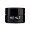 Henné Organics Luxury Lip Balm Closed Pot