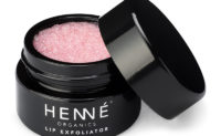 Henné Organics Lip Exfoliator Rose Diamonds Open Pot