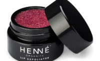 Henné Organics Lip Exfoliator Nordic Berries Open Pot