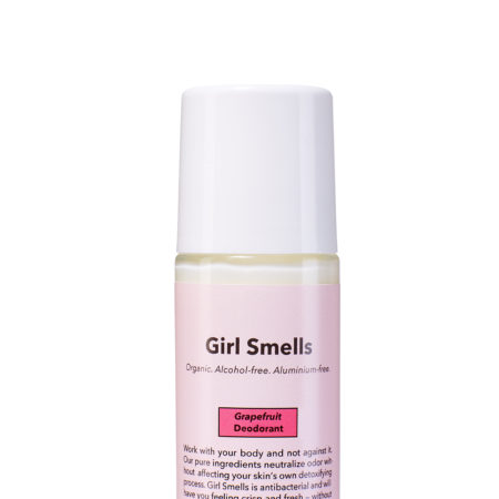 Girl Smells Deo Grapefruit