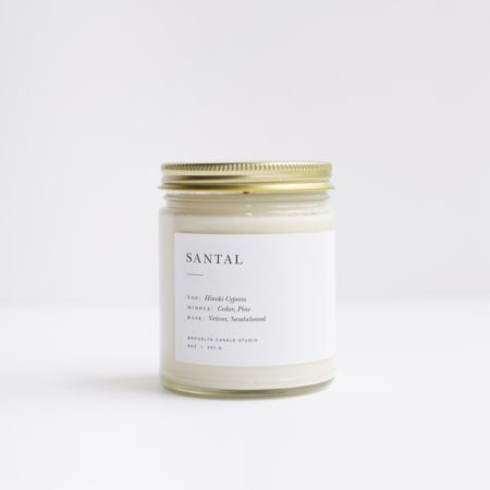 Brooklyn Candle Studio Santal Candle Minimalist
