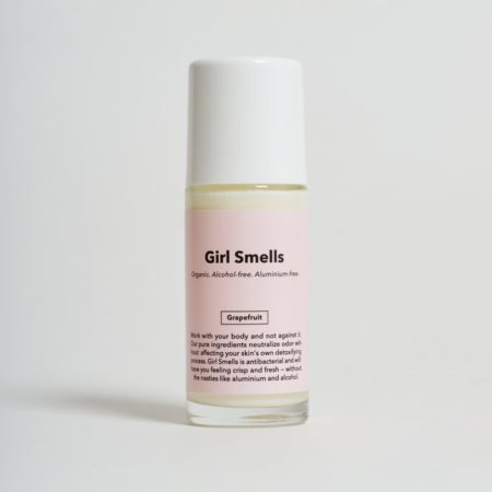 Girl Smells Grapefruit Deo
