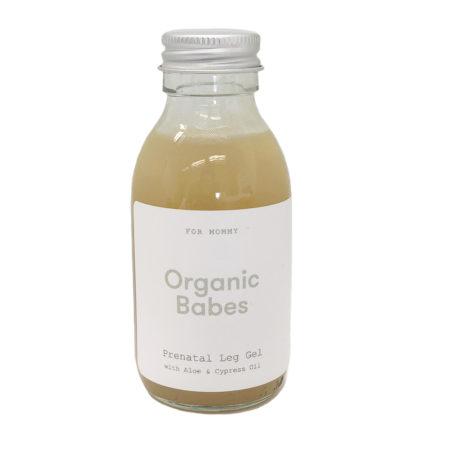 Organic Babes Prenatal Leg Gel Front