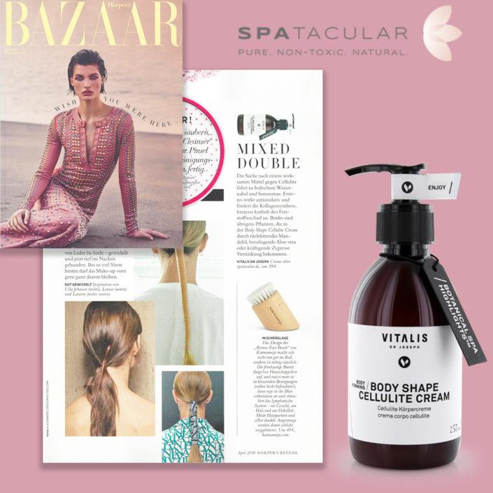 Haarpers Bazaar x SPAtacular x Vitalis Dr Joseph