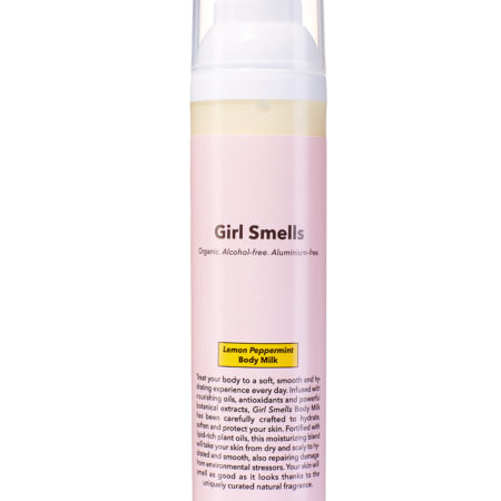 Girl Smells Body Milk Lemon Peppermint