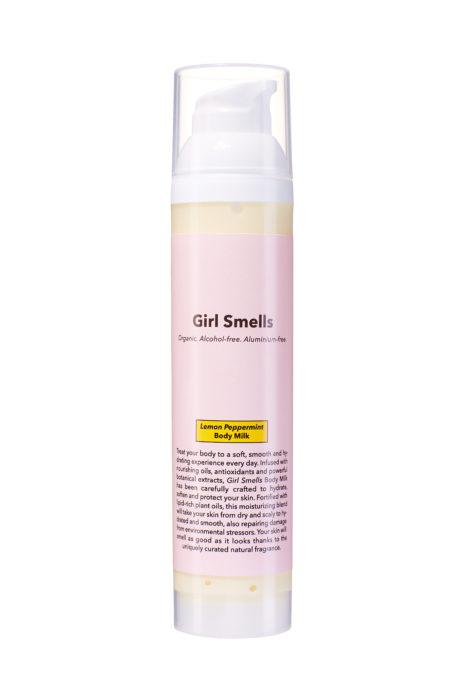 Girl Smells Body Milk Lemon Peppermint