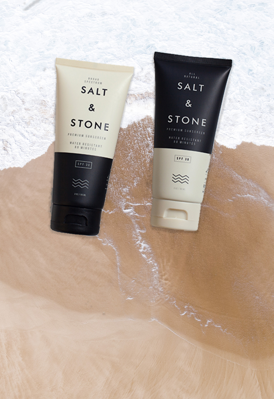 Salt & Stone Sunscreen Home Mobile